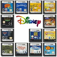 Multi✿ Nintendo DS DSi XL 2DS 3DS ●● All DISNEY  & PIXAR Games ●● Cart ++28/09