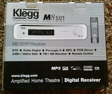 Klegg audio M8 501P reciever.Home cinema Digital processor 5.1 decoder.remote