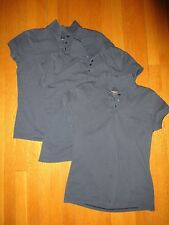 Dennis women's navy uniform polos Lot of 3 Size Adult Small