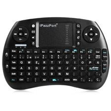 IPazzPort 2.4GHz RF Wireless Multifunctional Keyboard Touchpad For PC / TV Box