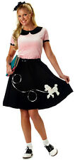 50s Hop Poodle Pink Rock N Roll Grease Women Costume