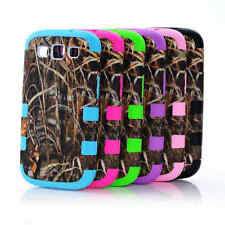 Hybrid Shockproof Protector Hard Soft Case Cover for Samsung Galaxy S5 S4 S3
