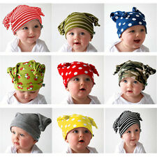Unisex Baby Cap Beanie Boy Girl Toddler Infant Children Cotton Soft Cute Hat FJ