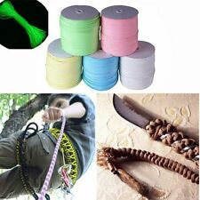 9 Strand 550 Luminous Glow in the Dark Paracord Parachute Cord Lanyard 25-100ft