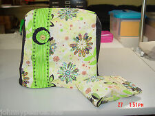 Singer Pixie, Pixie Plus, Quick Fix Machine Cover NEW Handcrafted Cotton Fabric