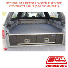 MCC BULLBAR DRAWER SYSTEM FIXED TOP SUIT TOYOTA HILUX (03/2005-06/2011)