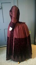 1880s Bustle Dress For Teenage Girl - Excellent Condition - Victorian Antique