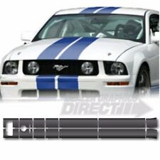 "2005 - 2009 FORD MUSTANG DUAL 6"" ROUSH STYLE RACING STRIPES"