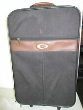 "Concourse Carry-on Upright Luggage Wheeled Rolling Bag, 14"" x 7"" x 22"""