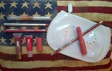 7pc lip liner and balm set in Anya Hindmarch cosmetics bag