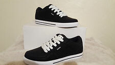 OSIRIS SHOES PROTOCOL BLACK WHITE MENS UK SIZE 8 NEW UNBOXED SKATEBOARDING