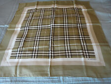 BURBERRY SILK SCARF - NEW