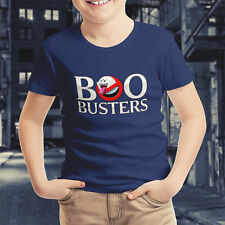 Ghostbusters Mario Ghost Boo Crossover Nintendo Kids Boys Youth Teen Tee T-Shirt