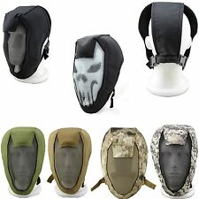 Airsoft Paintball Mesh Fencing Full Face Mask Guard Game Sport Hunting Protect