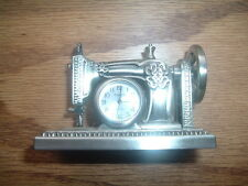 TIMEX Miniature SEWING MACHINE Collectible Clock --In Mint Shape-unused-nice