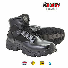 "Rocky AlphaForce Mens 6"" Composite Safety Toe Waterproof Tactical Duty Boots"