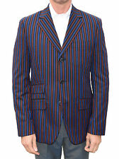 BURGUNDY BLUE & BLACK BOATING BLAZER MOD CLOTHING WARRIOR NORTHERN SOUL MODS