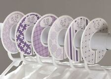 Purple girl #c134 Baby Closet Dividers Clothes Organizers 6