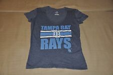 NWOT Tampa Bay Rays Women's V-Neck T-Shirt Shirt Polo Jersey Hat MLB Ladies