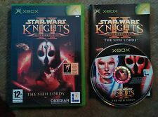 Star Wars KOTOR Knights of the old Republic 2 - Microsoft Xbox (original)
