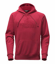 The North Face Red/Red Avalon Full Zip Hoodie Sweatshirt 2.0