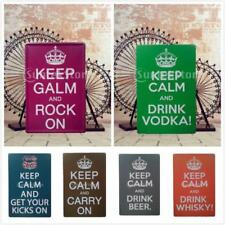Great British KEEP CALM Metal Sign Tin Art Poster Picture Pub Plaque Wall Decor