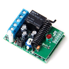 1Button 315/433MHZ Wireless Module Receiver Controller F Relay Remote Switch MA