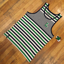 """LRG """"LETTERMAN STRIPED"""" TANK TOP (WHITE/GREEN/NAVY) -SELECT A SIZE FREE SHIPPING"""
