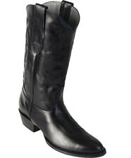 Los Altos Men's Round Toe Leather Cowboy Boots Western Handmade Medium (D)