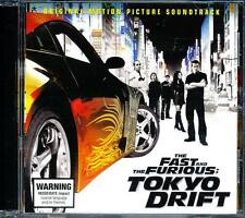 THE FAST AND THE FURIOUS TOKYO DRIFT ORIGINAL SOUNDTRACK CD - LN - NM