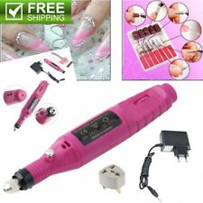 Polish Pen Shape Electric Nail Drill Machine Art Salon Manicure File Tool Set BE