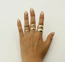 14K Solid Real Authentic Yellow Gold Classic Plain Wedding Band Ring Men Women