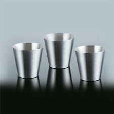 6PCS Hiking Camping  Whisky Wine Cups Shots Set Stainless Steel Mini Glasses New