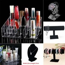 Clear 24 Makeup Cosmetic Lipstick Storage Display Stand Rack Holder Organizer BE