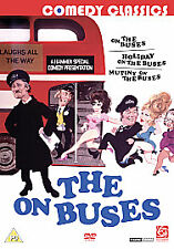On The Buses / Mutiny On The Buses / Holiday On The Buses (DVD,  2-Disc Set  NEW