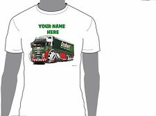 KOOLART EDDIE STOBART PERSONALISED NAME T-SHIRT GIFT CHRISTMAS PRESENT DESIGN 4