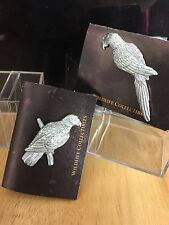 GG Harris' Wildlife Pins and All Kinds of Antiqued Pewter Birds