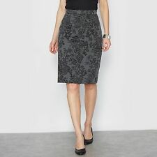 La Redoute Womens Printed Milano Knit Skirt