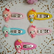 10pcs/lot princess style Kids Girls baby Hair Clips Barrettes Hair Accessories