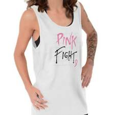 Breast Cancer Awareness Pink Fight Breast Cancer Ribbon Gift Tank Top Shirt