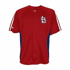 MLB St Louis Cardinals Jersey Stitches Embroidered Button Down FASTEST SHIPPING