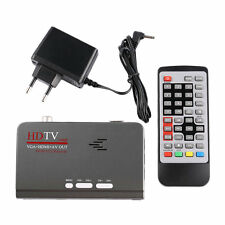 HD 1080P With VGA/ Without VGA Version DVB-T2 TV Box Receiver Remote Control BE