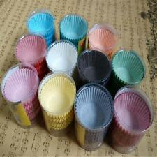 100pcs Paper Cake Cupcake Liner Case Wrapper Muffin Baking Cup o4