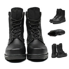 Fashionable Men's Retro Combat boots Winter England-style short Jungle shoes XC