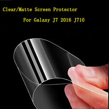 HD LCD Clear / Matte Screen Protector Film For Samsung Galaxy J7 (2016) J710 Lot