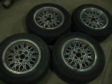 XE Ford Falcon Fairmont Ghia factory 15x7 Snowflake alloy mags, full set