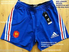 """42"""" XL or 46"""" XXL FRANCE ADIDAS RUGBY PLAYER SHORTS Original Packaging CLIMACOOL"""