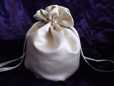 NEW Wedding / Dolly Bag in Champagne Satin ~ bride, bridesmaid, party, prom