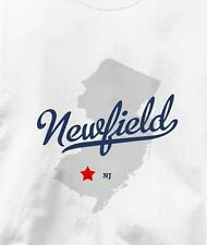 Newfield, New Jersey NJ MAP Souvenir T Shirt All Sizes & Colors