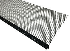 Small Hole Gutter Screen - Black - Contractor Quality, Not Available in Stores